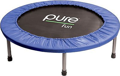 "Pure Fun 38"" Mini Rebounder Trampoline Ages 13+ 38-Inch New"