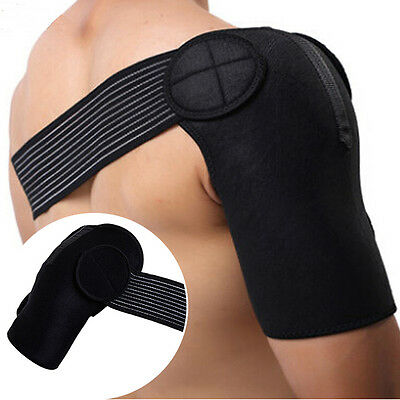 Dislocation Injury Arthritis Pain Neoprene Brace Magnetic Shoulder Support Strap