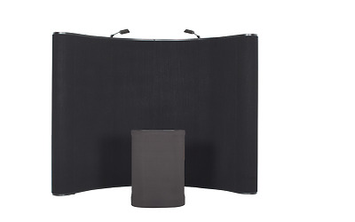 Ace Exhibits 10' x 8' CURVED POP UP DISPLAY Trade Show Booth Model E10