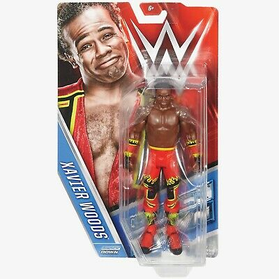 Xavier Woods Figur - WWE Series 64 - Basis - Basic - Mattel - Wrestling