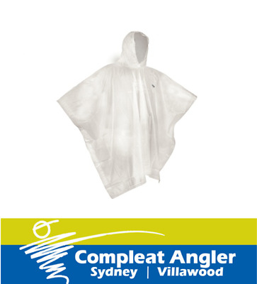 Team 100% Waterproof Reusable Poncho One Size Fits All BRAND NEW At Compleat Ang