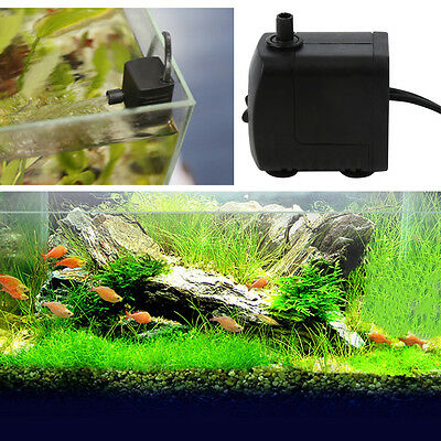 220V 15W AU Plug 800L/H Submersible Fountain Air Fish Tank Aquarium Water Pump A