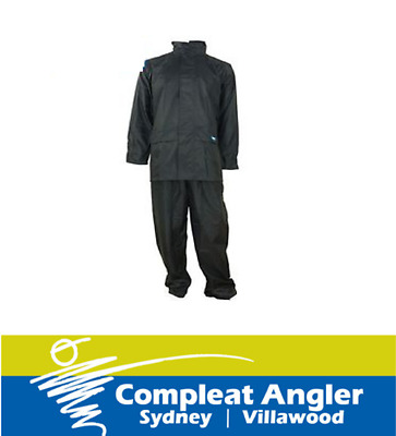 Team Tuflite Waterproof Jacket and Pants Set Medium Navy BRAND NEW At Compleat A