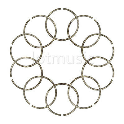 10× Guitar Rosette Soundhole Ring For Luthier Tonewood