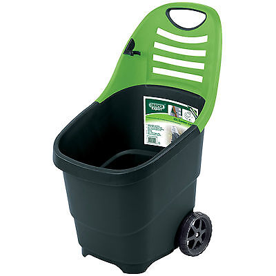 Draper Expert Lightweight Garden Cart / Barrow / Caddy / Trolley - 65L Capacity