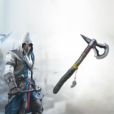 Assassin's Creed 3 III 45 cm Tomahawk Axe Video Game Cosplay Prop kids boys Toys
