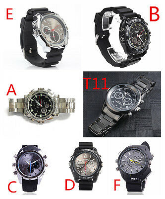 HD 1080P Spy Hidden Waterproof Watch Camera Night Vision Camcorder DVR