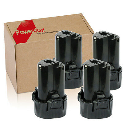 4x Batteria per Makita BL1013 194550-6 194551-4 Al litio 10.8V 1.5Ah TD090DWE IT