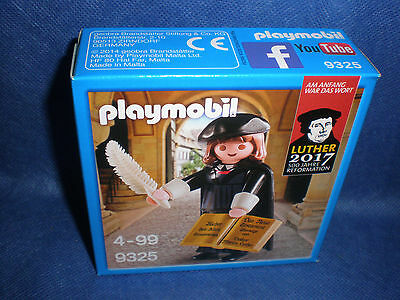 Playmobil 9325 Martin Luther 500 Jahre Reformation 2017 neu new