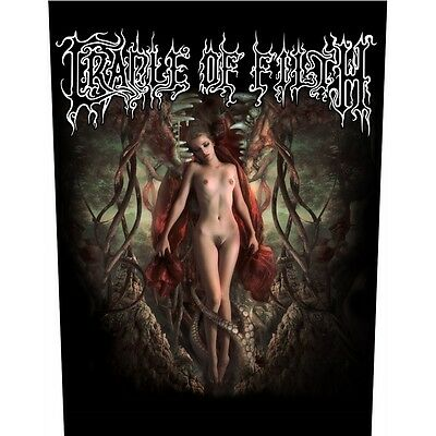 Cradle of filth deflowering  Back Patch XLG free worldwide shipping