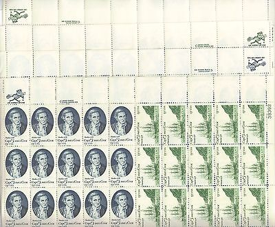 USA-United States 1978 13c Postage Capt James Cook & Ships 4 x Sheet Scot 1732-3