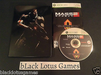 Mass Effect 2 SteelBook + Bonus Disc Only NO Game Collector's Edition G1