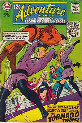 1968 Adventure Comics – Superboy & Legion of Super-Heroes – #373