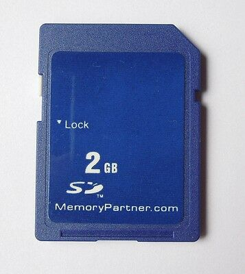 2GB SD Secure Digital Memory Card Standard For Cameras With Case New