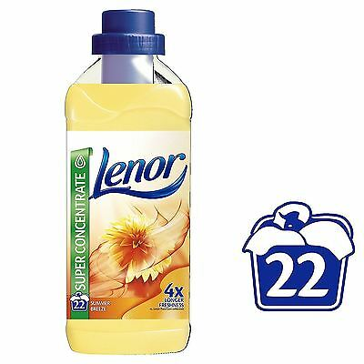 Lenor Summer Breeze Fabric Clothes Conditioner Family Pack - 550ml, 22 Washes