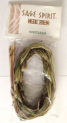 SWEETGRASS BRAID - For Smudging, Purifying, Prayer - Rapid Same Day Despatch