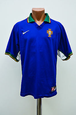 Portugal 1997/1998 Away Football Shirt Jersey Maglia Camiseta Nike