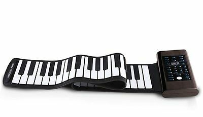 Original Konix PB61 Easy Roll Flexible 61Keys Roll up Piano with Speaker
