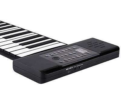 Original Konix PD61 Easy Roll Flexible 61Keys Roll up Piano with Speaker