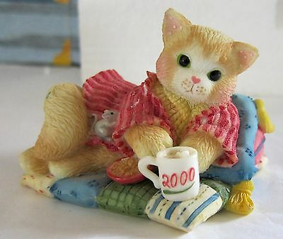 CALICO KITTENS CREATURE COMFORTS 2000 ENESCO #'d MINT Figurine SEE ALL PHOTOS