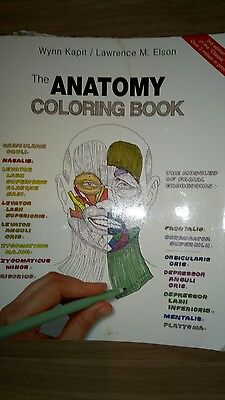 Anatomy Coloring Book 3rd Edition : The Anatomy Coloring Book, by Kapit and Epson 3rd edition ?3.00 PicClick UK