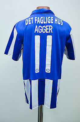 Brondby If Denmark 2014/2015 Player Issue Football Shirt Jersey Nike Agger #11