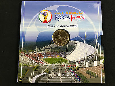 2002 Fifa World Cup Korea/japan Mint Coin Set