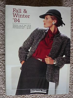 Vintage 1984 Montgomery Ward Fall and Winter  '84 Store Catalog