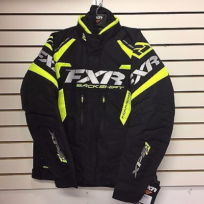 2017 FXR BACKSHIFT PRO Snowmobile Jacket MEN'S - BLACK/HI-VIS