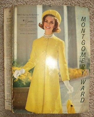 Vintage 1963 Montgomery Ward Spring and Summer  '63 Store Catalog