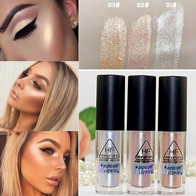 3 Farbe Mode Schimmern Concealer Highlighter Liquid Brightener Make Up Beauty