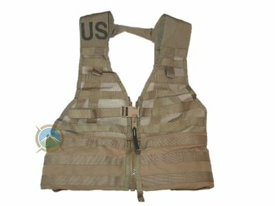 New Coyote USMC MOLLE FLC Military Tactical Survival Vest Fighting Load Carrier