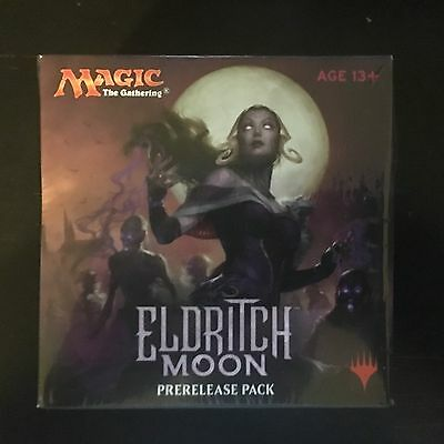 MTG Magic Eldritch Moon Prerelease Pack Kit New Factory Sealed