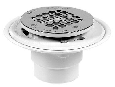 Oatey 42787 Offset Pvc Shower Drain With Stainless Steel Strainer 2
