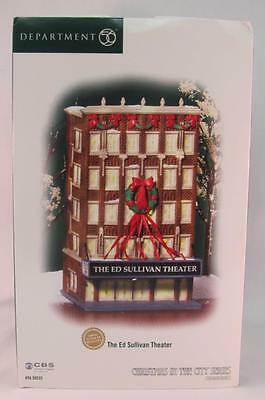 Dept 56 CIC Christmas in the City The Ed Sullivan Theater #59233