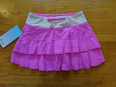 New Ivivva by Lululemon Girl's Pink Skort/Skirt, Size 12