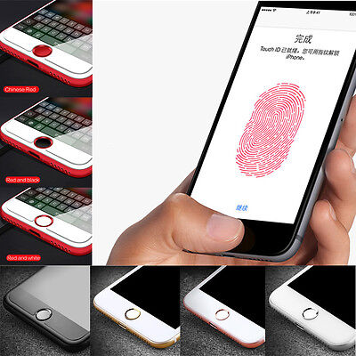 Home Button Sticker Button Fingerprint Indentification Touch ID for iPhone