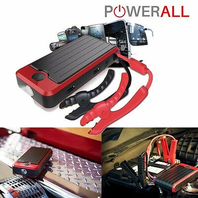 PowerAll Goliath 32000 mAh Power Bank 800 Amp 24V Jump Starter LED PBJS32000RG