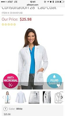 "Dickies EDS Professional Whites by Dickies Women's Consultation 28"" Lab Coat"