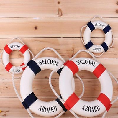 Swimline Lifeguard Life Preserver Swimming Pool Foam Safety Ring Buoy Decor Boat