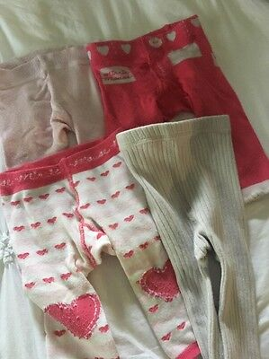 Girls lot of tights size 00 3 to 6 Months