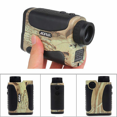 AF-1000L 6X 1000 Yard Laser Golf Range Distance Finder Meter Speed Measurer Camo
