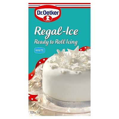 Dr. Oetker Regal-Ice Ready to Roll Icing White 6x454g