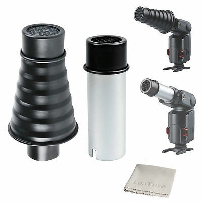 Godox AD-S9 Snoot with Honeycomb Grid for WITSTRO Speedlite Flash AD200 AD360