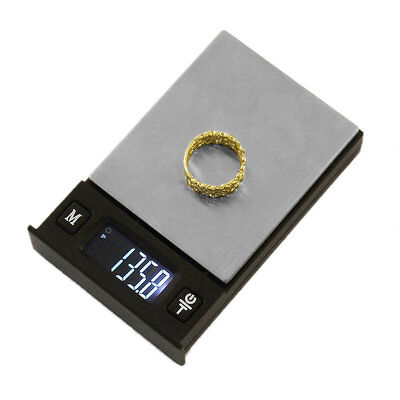 Poker Shape Fashion Digital LCD Display Portable Electronic Jewelry Scales AU