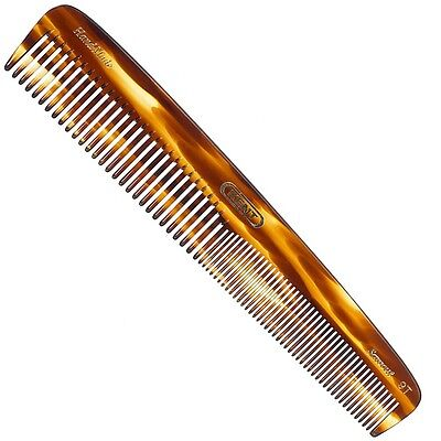 Kent 9T 192mm Dressing Table Comb - Large Size Coarse/Fine - Shipped from UK