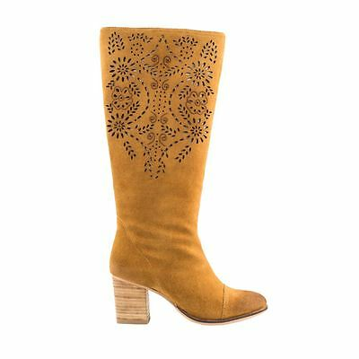 Forever Love Me Mustard Beige Amazia Knee High Boot