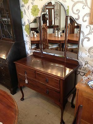 Edwardian Dressing Table C1901-1910 (Restored In Our Workshop)