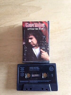 Gary Moore After The War MC cassetta tape