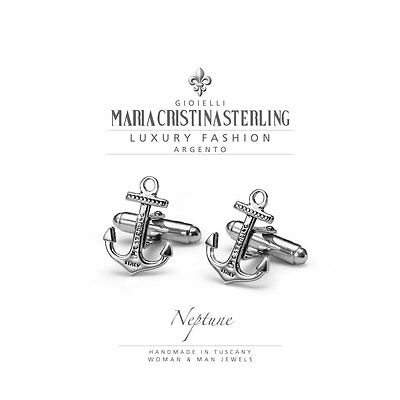 Maria Cristina Sterling Gemelli Uomo Nepture Argento 925 G2316